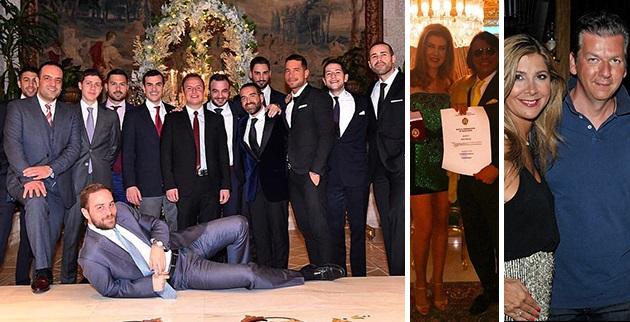 «Χρυσά» x-mas parties σε επαύλεις Λιβανέζων