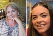 Η 45χρονη Σβέτα και η Η 17χρονη Μαρία - Ιωάννα