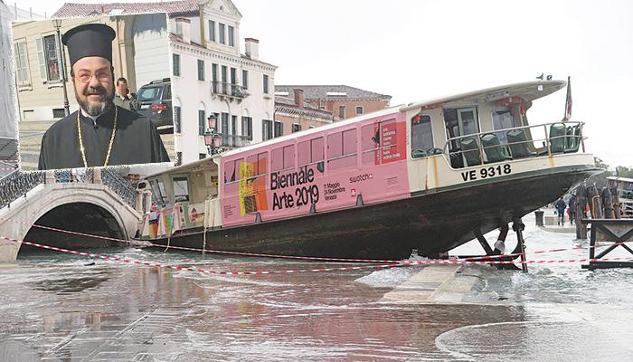 Καταστροφές στη Βενετία