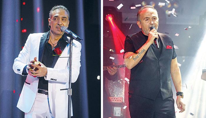 Ο Νότης Σφακιανάκης και ο Σταμάτης Γονίδης