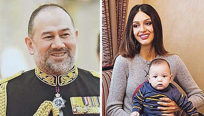 τέως βασιλιάς της Μαλαισίας με την πρώην σύζυγό του