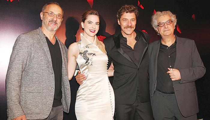 Από αριστερά: Στέλιος Μάινας, Ρένα Μόρφη, Γιάννης Στάνκογλου και Αλέξης Καρδαράς