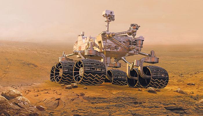 Το ρομποτικό όχημα «Curiosity» στον Άρη