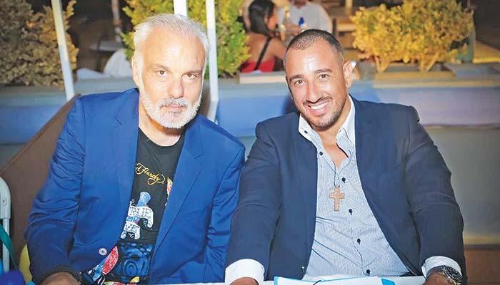 Οι Κυριάκος Κερανόπουλος και Αλέξανδρος Καλλέργης