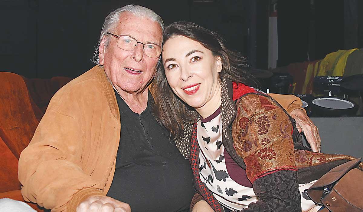 Ο Κώστας Βουτσάς με τη σύζυγό του Αλίκη Κατσαβού
