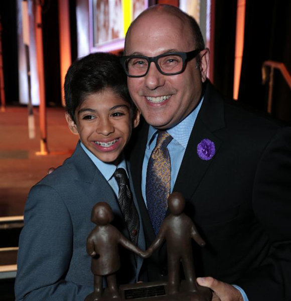 Willie Garson and son nathan