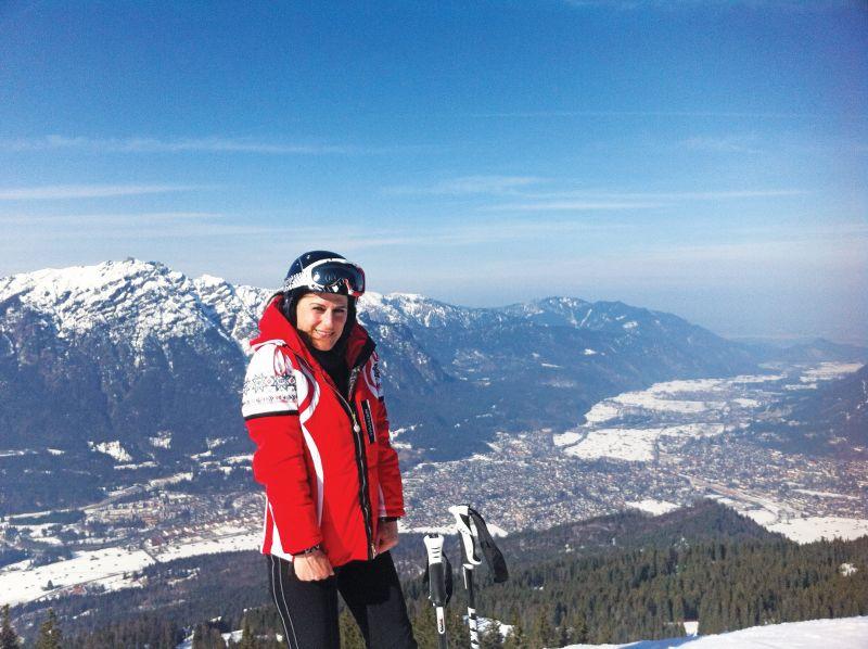 2 Για σκι στης Άλπεις